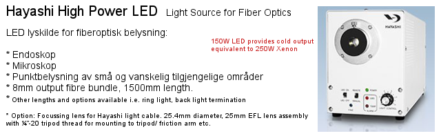 Hayashi LED light source - HDF7010